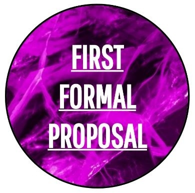 First Formal Proposal